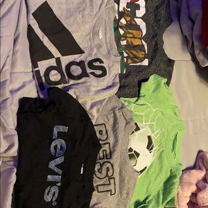 Kids brands graphic ts